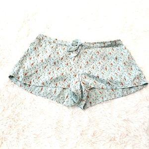 Victoria's Secret 100% Silk Shorts